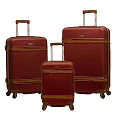 Olympia USA Stardust 3-Piece Luggage Spinner Set