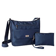 Organizzi RFID Carryall Bag with Wristlet