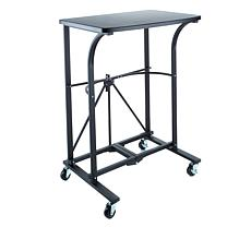 Origami Folding Steel Trolley Table