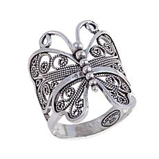"Ottoman Silver Jewelry Collection ""Butterfly"" Ring"