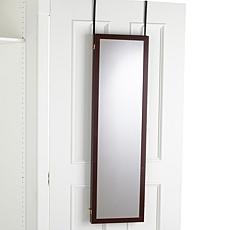 Over-the-Door Three Way Mirror