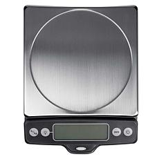 OXO Good Grips 11lb. Stainless Steel Food Scale with Pull-Out Display