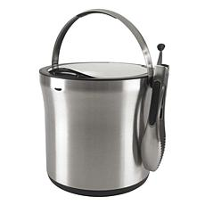 OXO Steel Ice Bucket and Tong Set