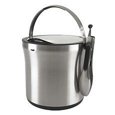 OXO Steel Ice Bucket and Tong Set
