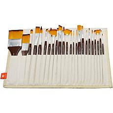 Paint Brush Library In Canvas Wrap 24-pack