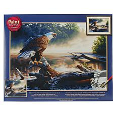 "Paint Works Paint By Number Kit 20"" x 14"" - Eagle Hunter"