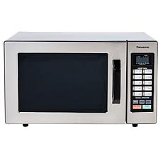 Panasonic 0.8 cu. ft. 1000W Commercial Programmable Microwave Oven