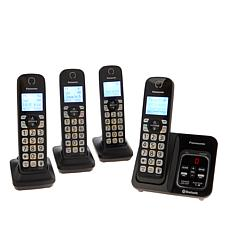Panasonic DECT 6.0 4pk Link2Cell Cordless Phones