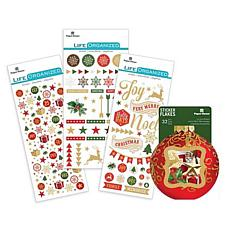 Paper House Christmas Joy Sticker Set