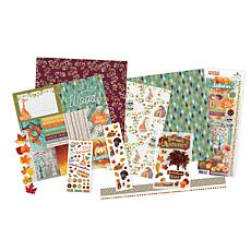 Paper House Fall in Autumn Paper Crafting Kit