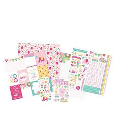 Paper House Hello Baby Girl Paper Crafting Kit