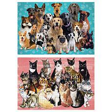 Paper House Pets Puzzle Set