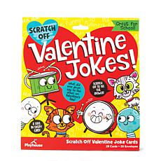 Paper House Scratch Off Jokes Valentine Cards