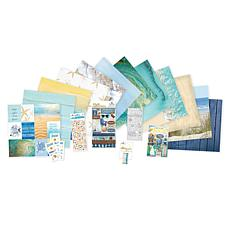 Paper House Serene Beach Paper Crafting Bundle