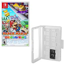 Paper Mario for Nintendo Switch with Game Caddy