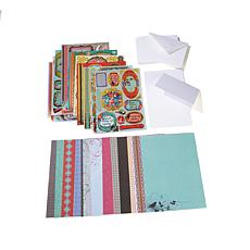 Paper Wishes Little Birdie Gilded Toppers & Card Kit