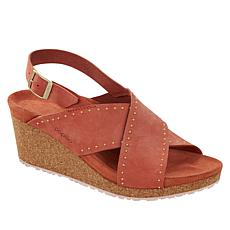 Papillio by Birkenstock Samira Rivets Leather Sandal