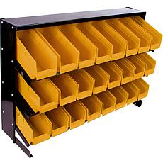 Parts Storage Rack with 24 Bins