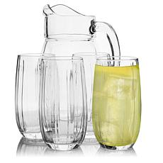 Pasabahce Linka 5 Piece Glass Pitcher and Tumbler Set