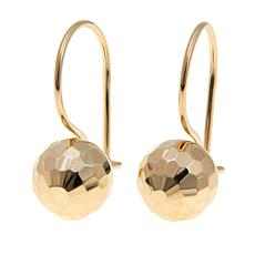 Passport to Gold 14K Diamond-Cut Ball Drop Earrings