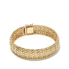 Passport to Gold 14K Gold Basketweave Bracelet