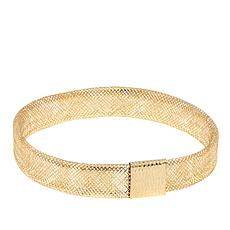 "Passport to Gold 14K Yellow Gold Mesh 8"" Bracelet"