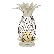 Patricia Altschul Pineapple Lantern with LED Candle