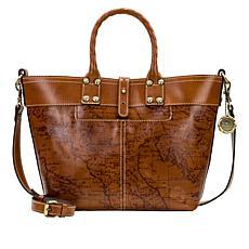Patricia Nash Analia Leather Top Handle Crossbody Bag