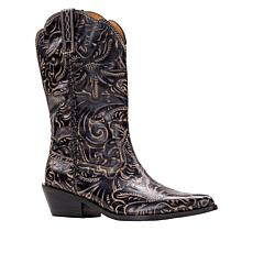 Patricia Nash Bergamo Leather Western Boot