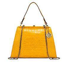 Patricia Nash Bonifati Leather Frame Bag