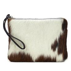 Patricia Nash Cassini Leather Haircalf Wristlet