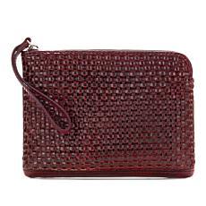 Patricia Nash Cassini Woven Leather Wristlet