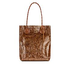 Patricia Nash Cavo Tooled Leather Tote