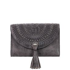 Patricia Nash Colli Distressed Leather Flap Wallet