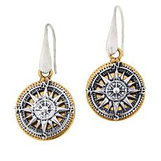 Patricia Nash Compass Drop Earrings