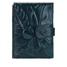 Patricia Nash Debossed Leather Passport Travel Case