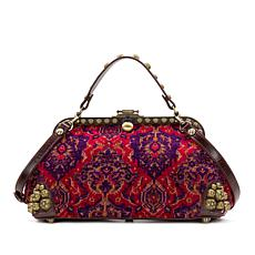 Patricia Nash Discovery Maura Tapestry Frame Satchel