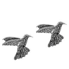 Patricia Nash Hummingbird Stud Earrings