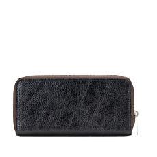 Patricia Nash Lauria Leather Zip-Around Wallet