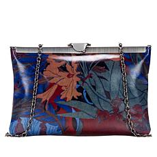 Patricia Nash Leather Gate Frame Clutch