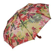 Patricia Nash Magliano Map-Print Push-Button Umbrella