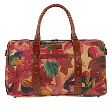 efa8b5877199c Patricia Nash Milano Leather Duffel Bag