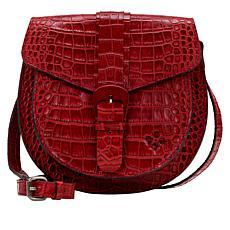 Patricia Nash Padova Leather Saddle Bag