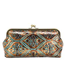 Patricia Nash Potenaz Venetian Tooled Leather Clutch