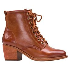 Patricia Nash Sergio Leather Lace-Up Bootie