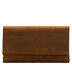 Patricia Nash Terresa Leather Diamond-Textured Signature Wallet