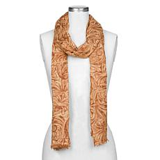 Patricia Nash Tooled-Print Scarf