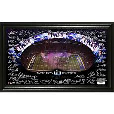 Patriots Officially Licensed Super Bowl LIII Champions Signature Grid