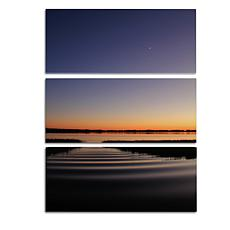 "Patty Tuggle ""Sun Down Moon Up"" 3-Panel Giclée Prints"
