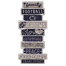 "Penn State University Celebrations Stack 24"" Sign"